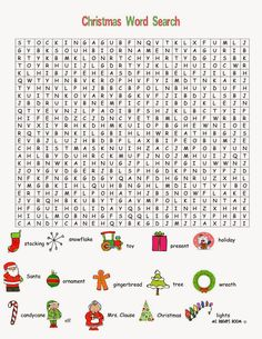 36 Printable Christmas Word Search Puzzles Kitty Baby Love Lively Hard