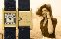 """""""Jackie Kennedy's Cartier Tank Normale Up For Auction"""" via @watchville"""