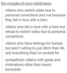 Villain motives on choosing sides (hero-love removed) Writing Boards, Book Writing Tips, Creative Writing Prompts, Writing Resources, Writing Help, Writing Ideas, Dialogue Prompts, Story Prompts, Story Inspiration