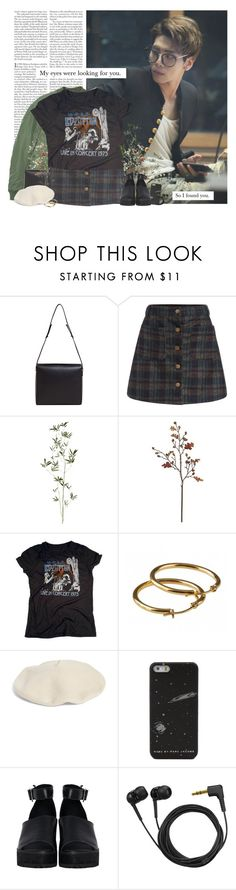 """""""Jonghyun: my eyes were looking for you. so i found you"""" by yxing ❤ liked on Polyvore featuring Edition, Maison Margiela, Crate and Barrel, Halogen, The WhitePepper, Sennheiser, kpop, shinee and jonghyun"""