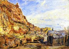 The Quarry at Albersweiler (1912)