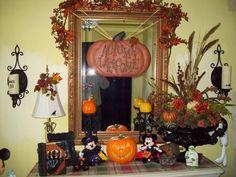 Halloween decorations : IDEAS & INSPIRATIONS  A few Autumn and Halloween Decor