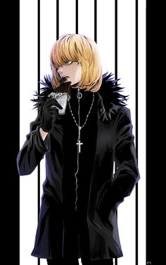 Mello Death Note Eating chocolates never looked so hot.
