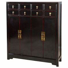 Armoire Chinoise Ancienne - Meuble Chinois Ancien - Armoire Chinoise ...