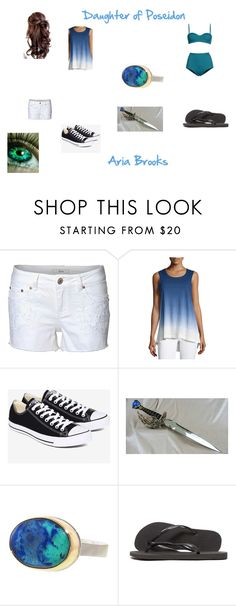 """""""Daughter(s) of gods and goddess 2"""" by melindasayshi on Polyvore featuring Dex, Nanette Lepore, Converse, Wild Rose, Jamie Joseph, Retrò and Havaianas"""