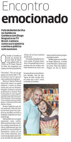 Diário do Nordeste @Clipping2016 #DiogoNogueira