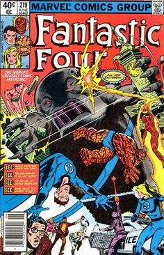 Fantastic Four #219 - Leviathans