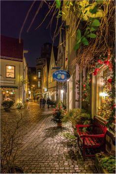 Schnoor Street, Bremen, Germany