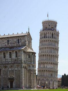 Torre de Pisa, Itália.