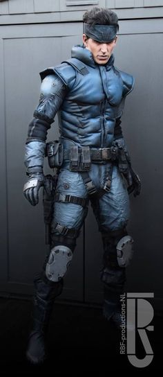 "deathcult66: "" theomeganerd: "" Metal Gear Solid - Solid Snake Cosplay by Rick Boer 
