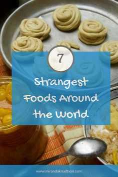 Travelers tell the stories about the strangest foods they've tried around the world. | #traveltips #travelstories #aroundtheworld #Worldfood #travelfood