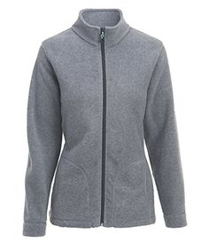 Woolrich Women's Andes Fleece Jacket, Matte Gray Heather, M #outfitoftheday -- Learn more by visiting the sponsored item link.
