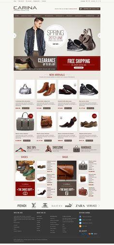 Carina - Responsive OpenCart Fashion Store Theme