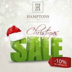 Drodzy Klienci ! Sklep internetowy hamptons.pl zaprasza na świąteczne zakupy. W dniach 13.12 - 16.12.2014 obowiązuje specjalny świąteczny rabat - 10% na wszystkie produkty. Wystarczy skontaktować się z nami hamptons@hamptons.pl lub 537354445, celem wygenerowania kodu rabatowego. Życzymy przyjemnych zakupów !