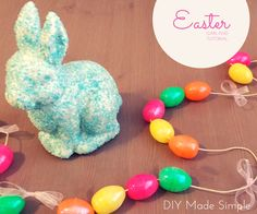 If you're looking for a cute and quick Easter home decor, look no further. This Easter garland is a stunner and only takes 5 minutes and $5 to make. What are you waiting for? Let's get started!
