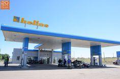 Kasachstan Tankstelle