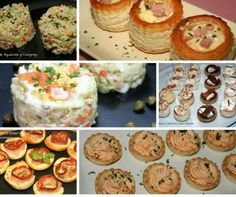 6 aperitivos faciles para navidad Tapas, Good Food, Yummy Food, Fun Food, Canapes, Different Recipes, Baked Potato, Hamburger, Buffet