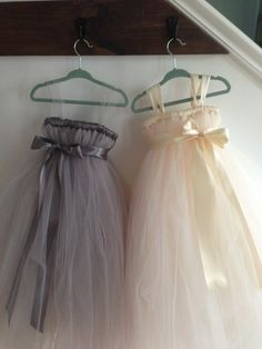 Small girls in my wedding: Blush tutu flower girl dress NB12 girls by HadandHarps on Etsy