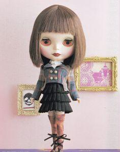 Kenner Blythe dolls Elegant Punk Cropped Jacket by DollyAndPaws