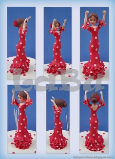 bailarina porcelana fria española