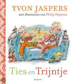 bol.com | Ties en Trijntje, Yvon Jaspers | Boeken