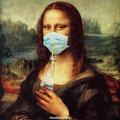 Mona lisa cerveza Corona on We Heart It Mona Lisa Parody, Mona Lisa Smile, Arte Pop, Art Memes, Funny Art, Aesthetic Art, Aesthetic Drawing, Surreal Art, Aesthetic Wallpapers