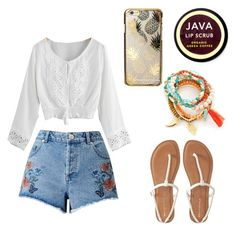 """Untitled #4"" by bamii ❤ liked on Polyvore featuring Miss Selfridge, Java, Aéropostale and Skinnydip"
