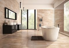 The striking Astbury marble effect tile is created using the latest HD technology giving your room a striking, contemporary look. Available in Grey and Beige.
