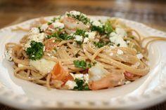 Shrimp and Artichoke Pasta