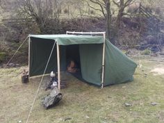 New Canvas Tent Camping Diy 60 Ideas Camping Glamping, Diy Camping, Camping And Hiking, Camping Life, Camping Hacks, Outdoor Camping, Tent Tarp, Hammock Tent, Diy Tent