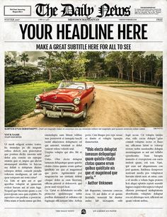 12 best old fashioned newspaper template images on pinterest