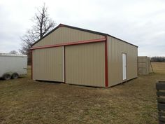 40x60x16 With 8x30 Shed