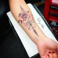 (notitle) - Denise Palmer Swan - Tattoo Frauen Unterarm - Tattoo World Forarm Tattoos, Body Art Tattoos, Small Tattoos, Sleeve Tattoos, Tatoos, Arm Tattos, Dainty Tattoos, Anklet Tattoos, Tattoo Girls