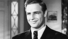 """Marlon Brando, screen test for """"Rebel without a Cause."""""""