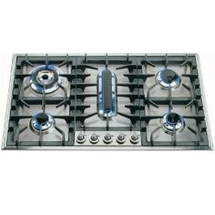 Sigma SLX Built In 90cm Gas Hob, 4 Burners & Fish Burner