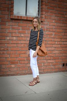 black white tan: casual glamorous