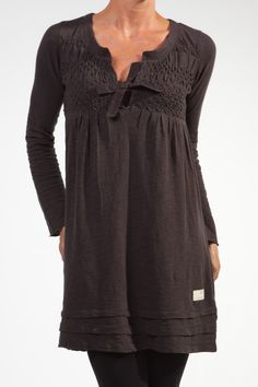 Almost Black Absentee Dress