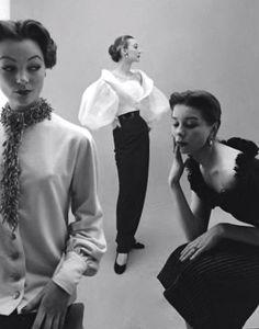 1950's fashion - hubert de givenchy