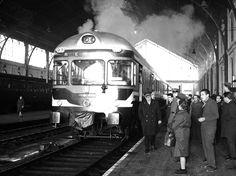 Andenes de la Estación de Delicias en 1967