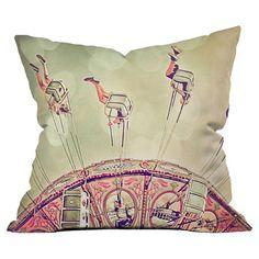 Shannon Clark Fun Times Throw Pillow at Joss & Main Outdoor Throw Pillows, Accent Pillows, Danish Style, Throw Pillow Sets, Pillow Talk, Fashion Room, Joss And Main, Cool Furniture, Good Times
