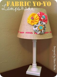 fabric yoyo lamp