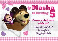 Resultado de imagen para masha y el oso cumpleaños