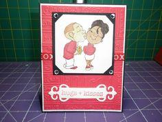 Valentine Card using Robert Jackson Image