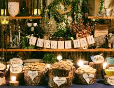 Instead of cupcakes? COOKIE BAR - Reception