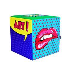 Pufe Cubo Pop Art