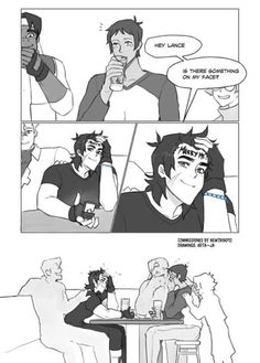 Just some cute comic pictures of Klance None of these pictures are mine Credit to artists Shiro Voltron, Voltron Klance, Voltron Comics, Voltron Memes, Voltron Fanart, Form Voltron, Voltron Ships, Klance Cute, Cute Gay