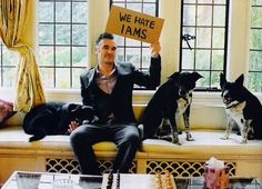 Famous people (Morrissey) + Dogs