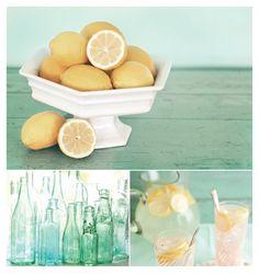 Party Palette: Lemonade   Seaglass