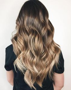 Soft Bronde Balayage Hair