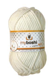 Myboshi No.3 391 weiß 100% Merinowolle 4,95 €
